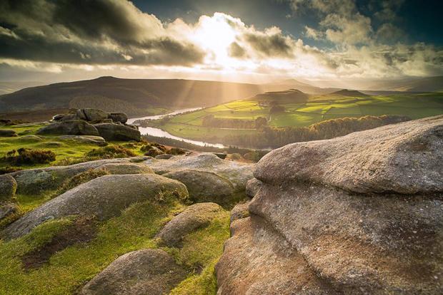View from Derwent Edge